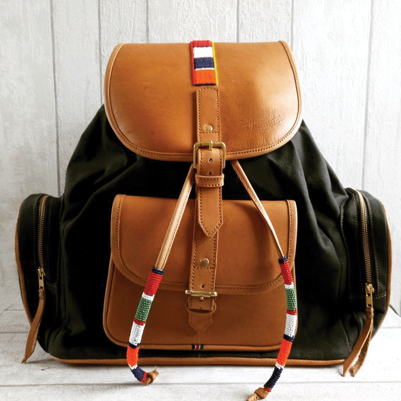 The Shanta Knapsack Bag
